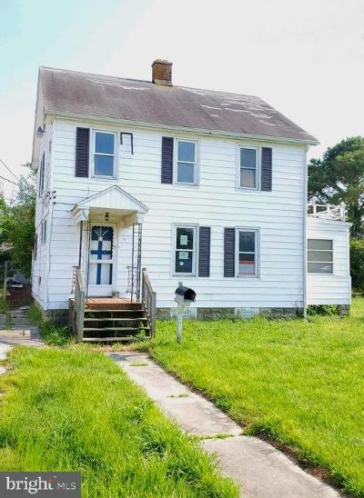 Crisfield Single Family Home For Sale: 309 Cove Street