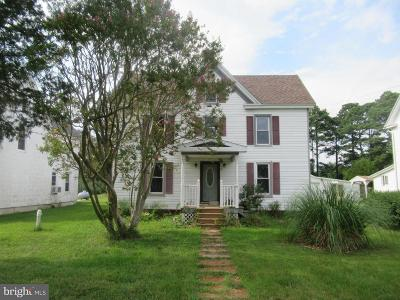 Crisfield Single Family Home For Sale: 3326 Sackertown Road