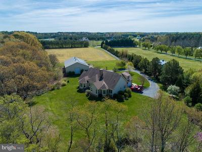 Cecil County, Dorchester County, Kent County, Queen Annes County, Somerset County, Talbot County Single Family Home For Sale: 29505 Porpoise Creek Road