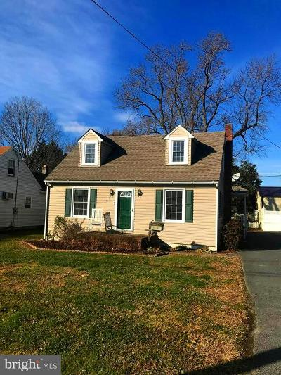 Easton MD Single Family Home For Sale: $190,000