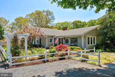 Saint Michaels Single Family Home For Sale: 9241 Deepwater Point Road