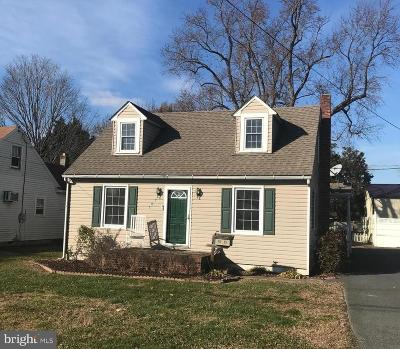 Easton MD Single Family Home For Sale: $189,000