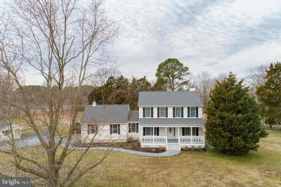 Talbot County Single Family Home For Sale: 8190 Bozman Neavitt Road