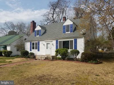 Easton Single Family Home For Sale: 311 Elm Avenue