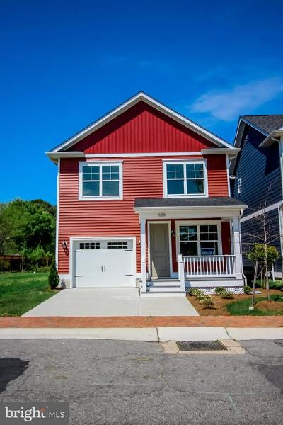 Talbot County Single Family Home For Sale: 109 Dodson Avenue