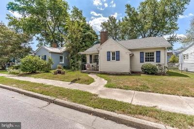 Easton Single Family Home For Sale: 408 Winton Avenue