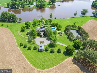 Cecil County, Dorchester County, Kent County, Queen Annes County, Somerset County, Talbot County Farm For Sale: 26035 Marengo Road