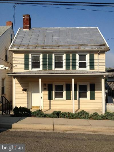 Boonsboro Single Family Home For Sale: 110 S Main Street