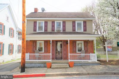 Sharpsburg Single Family Home For Sale: 222 W Main Street