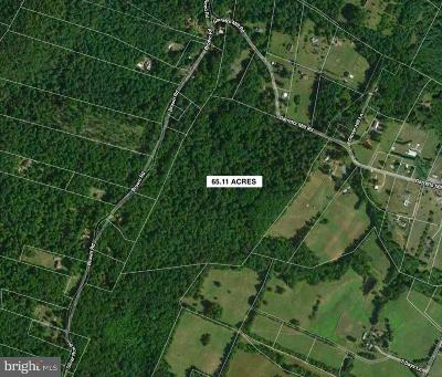 Residential Lots & Land For Sale: 65+ Acres Garretts Mill Road