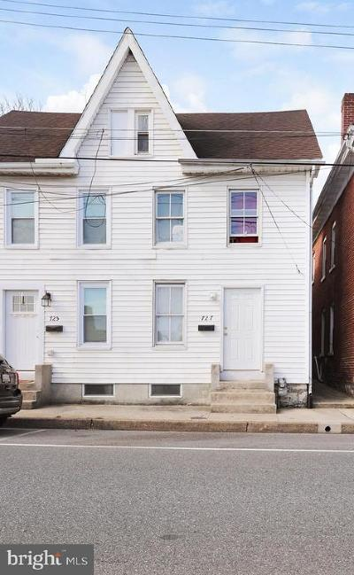 Hagerstown Single Family Home For Sale: 727 Washington Avenue