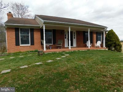 Boonsboro Single Family Home For Sale: 7602 Fairplay Road