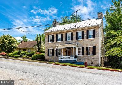 Sharpsburg Single Family Home For Sale: 200 E Main Street