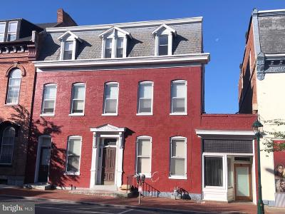Hagerstown Multi Family Home For Sale: 51 E Franklin Street