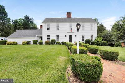 Hagerstown Single Family Home For Sale: 19711 Meadowbrook Road