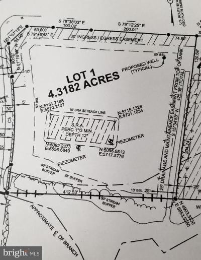 Somerset County, Wicomico County, Worcester County Residential Lots & Land For Sale: Bent Pine Road