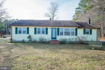 Single Family Home For Sale: 26195 Porter Mill Road