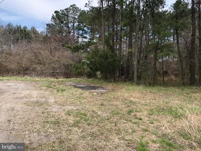 Wicomico County, WICOMICO COUNTY Residential Lots & Land For Sale: Nanticoke Road