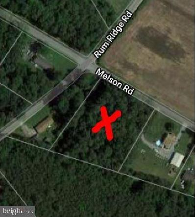 Wicomico County, WICOMICO COUNTY Residential Lots & Land For Sale: Lot 2 Parcel 47 Melson Road
