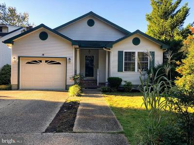 Ocean Pines Single Family Home For Sale: 14 Boston Drive