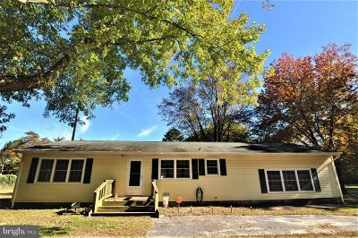 Bishopville Single Family Home For Sale: 13010 Muskrattown Road