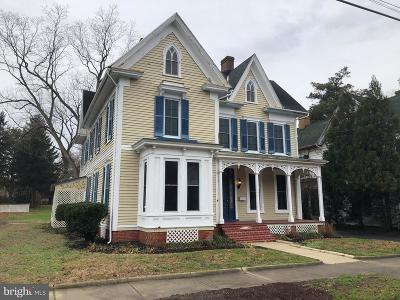 Snow Hill Single Family Home For Sale: 106 N Church Street