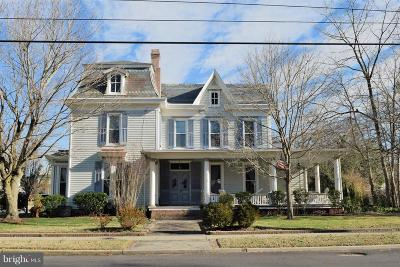 Snow Hill Single Family Home For Sale: 101 S Church Street