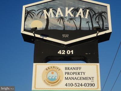 Ocean City Single Family Home For Sale: 4201 Coastal Highway #603