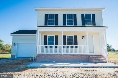 Pocomoke City Single Family Home For Sale: 1717 Cedar Street