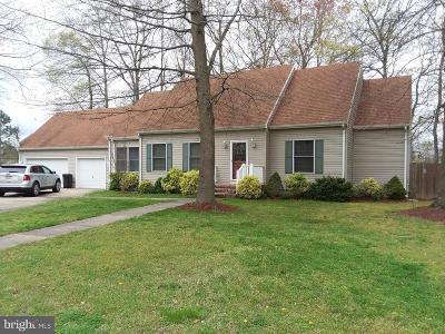 Pocomoke City Single Family Home For Sale: 833 White Oaks Lane
