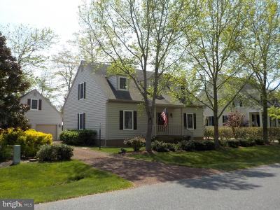 Berlin Single Family Home For Sale: 1603 Mercers Way