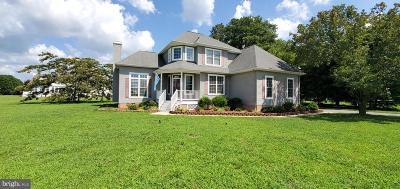 Pocomoke City Single Family Home For Sale: 2801 Stockton Road