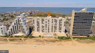 Ocean City Single Family Home For Sale: 9800 Coastal Highway #708