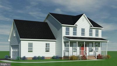 Berlin Single Family Home For Sale: Lot 4 Old Ocean City Rd