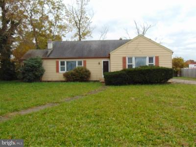 Hammonton Single Family Home For Sale: 562 N 3rd Street