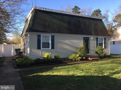 Atlantic County Single Family Home For Sale: 107 W Collings Drive W