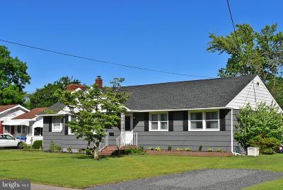 Hammonton Single Family Home For Sale: 654 Peach Street