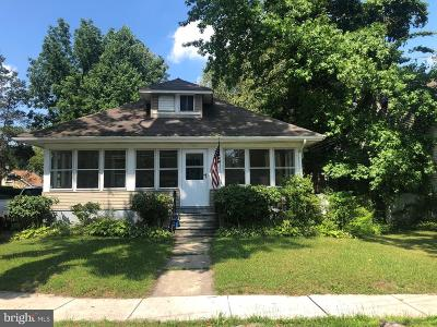 Hammonton Single Family Home For Sale: 331 S 3rd Street
