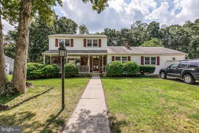 Hammonton Single Family Home For Sale: 842 Giordano Lane