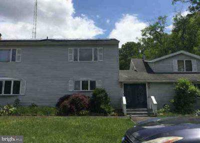 Hammonton Single Family Home For Sale: 1121 Elwood Road