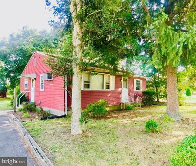 Hammonton Single Family Home For Sale: 178 Route 206