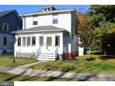 Moorestown Single Family Home For Sale: 411 N Church Street