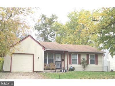 Willingboro NJ Single Family Home For Sale: $132,900