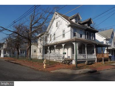 Mount Holly Single Family Home For Sale: 60 White Street