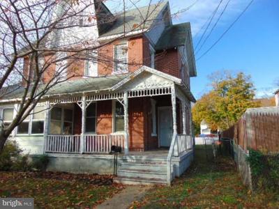 Delanco Single Family Home For Sale: 419 Union Avenue