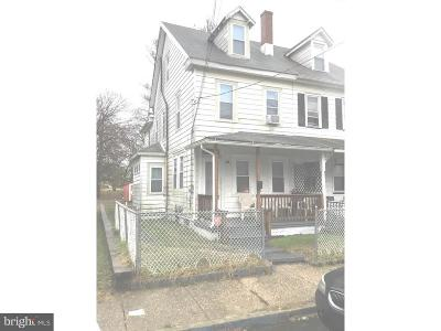 Mount Holly Single Family Home For Sale: 212 Chestnut Street