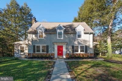 Moorestown Single Family Home For Sale: 42 Lakeview Drive