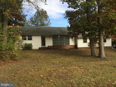 Mount Laurel Single Family Home For Sale: 343 Hartford Road