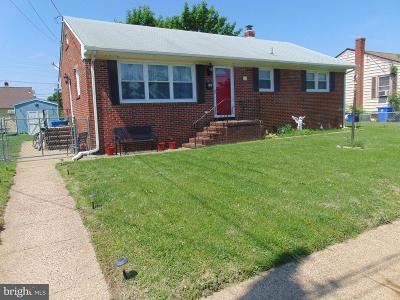 Burlington Single Family Home For Sale: 741 Neptune Avenue