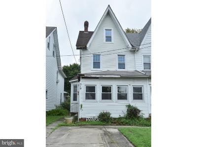 Palmyra Single Family Home For Sale: 519 Leconey Avenue